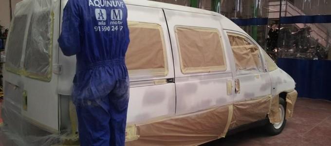 Curso pintor de vehículos automoviles