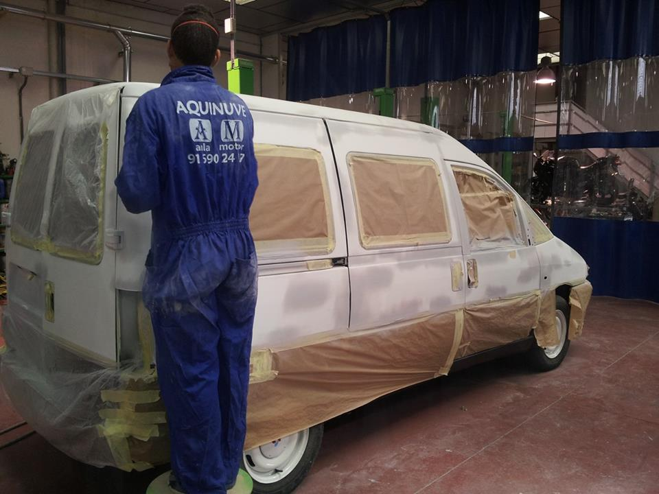 Curso Pintor De Vehiculos Automoviles Aquinuve