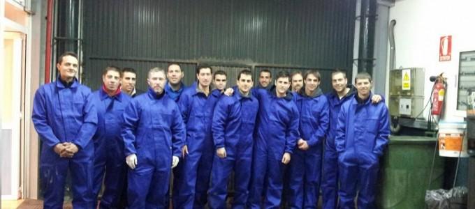 Comienzo del curso de mecanica de motos 2013-2014