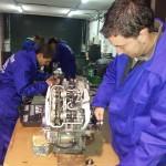 curso mecanica de motos madrid kymco taller