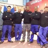 Éxito en el inicio del curso de auxiliar del área de carrocería