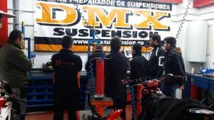 curso suspensión motos