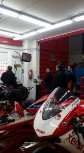 curso suspensiones moto
